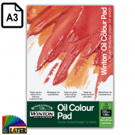 Blok do farb olejnych Oil Colour 230g A3 - blok_a3_oil_colour_pad_230g_later_plastyczne_lublin_pl_1.png