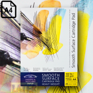 Blok Smooth Surface Cartridge Pad 220g A4  - blok_smooth_surface_220gsm_100lbs_a4_25str_winsor_end_newton_6689634_later_plastyczne_lublin_pl.png