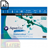Blok do akwareli Aquafine smooth 300g Daler Rowney A3 - blok_watercolour_paper_aquafine_smooth_daler_rowney_a3_300gsm_12krt_087801_later_plastyczne_lublin_pl_01.png