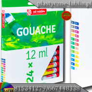 Gwasz ArtCreation 24x12ml Gouache  - gouache_24x12ml_art_creation_later_plastyczne_lublin_pl_1.png